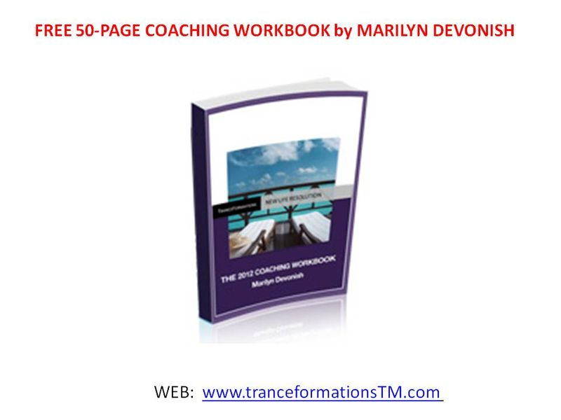 50 Page Coaching Workbook