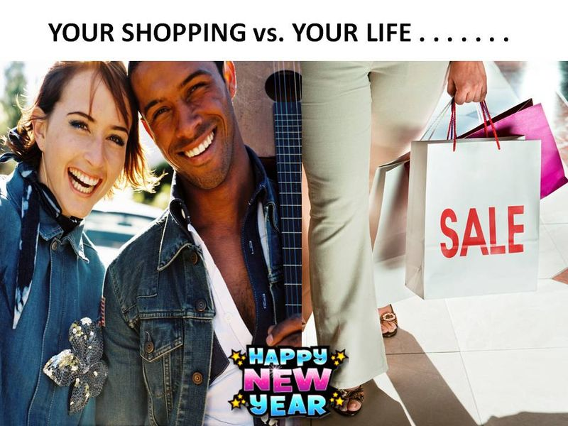 Shopping or Your Life